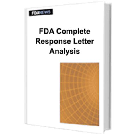 Complete Response Letter Xeljanz Fda Complete Response Letter Analysis How 51 Companies Turned Failure To Success Fdanews