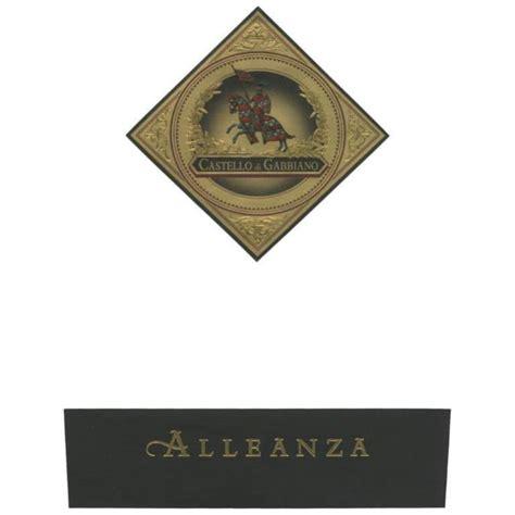 gabbiano winery gabbiano alleanza 2010 wine