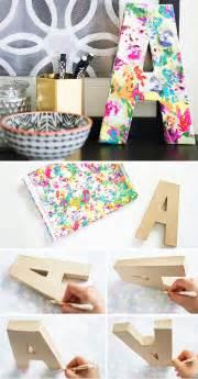 Diy floral monogram diy home decor ideas on a budget click for