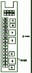 fuse box diagram mercedes 2005 cls 500 mercedes fuse box diagram