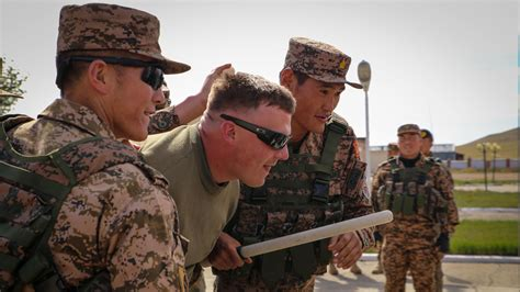 for soldiers mongolian armed forces u s marines host senior