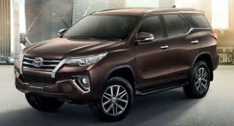 Toyota Mid Size Suv 2017 Toyota Fortuner Specs And Review Toyota Fortuner