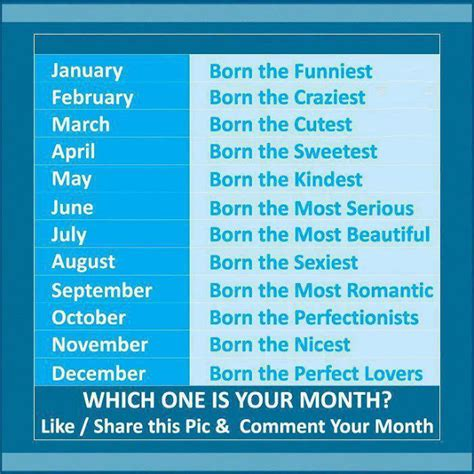 which month you were born decent image scraps which one is your month