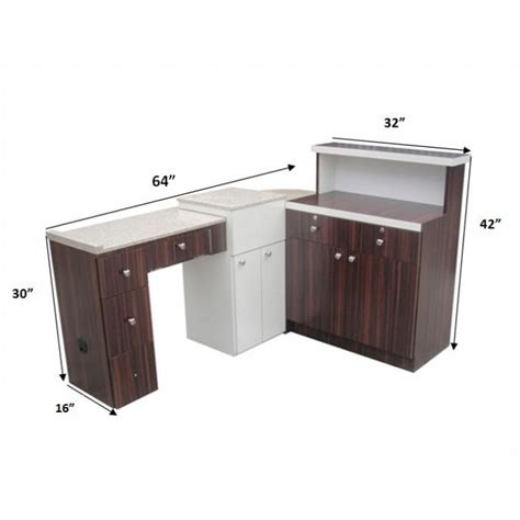 nail salon reception desk beauty salon furniture reception desk manicure table