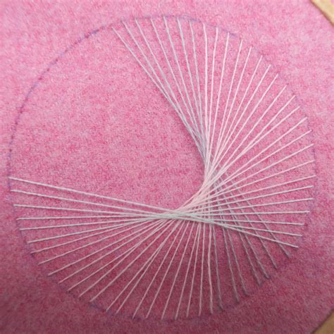 String With Needle And Thread - flossie teacakes a tutorial how to make string with