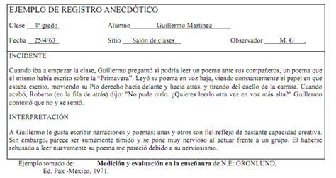 orientaci 243 n ies ram 243 n y cajal educamadrid registro anecdtico con ejemplos registro anecdtico con