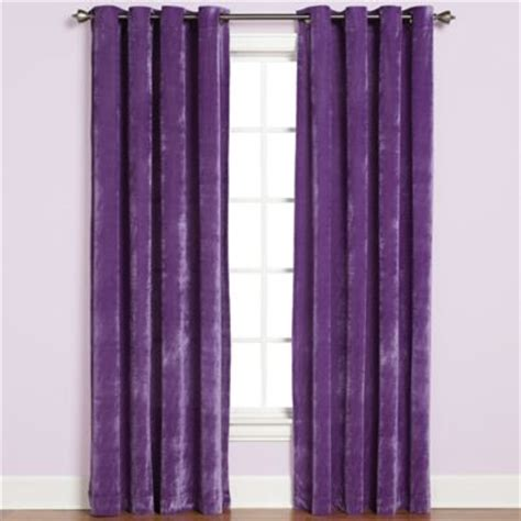 plush curtains buy velvet curtains from bed bath beyond
