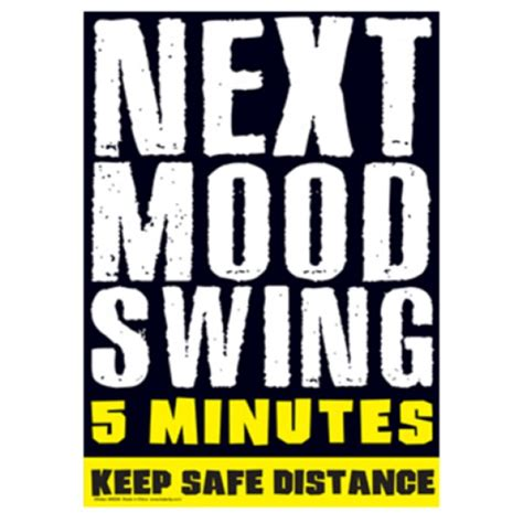 mod swings next mood swing metal sign