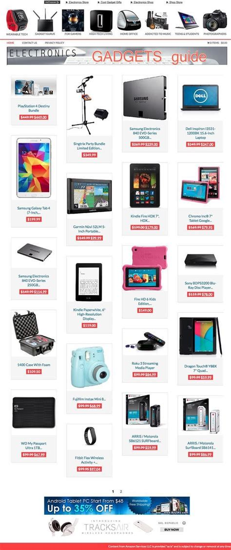 electronic gifts store  hosting