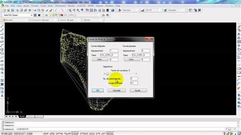 Tutorial Autocad Curvas De Nivel | tutorial autocad y civilcad como generar triangulacion y