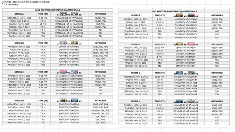 printable daily nba schedule nba weekly schedule template bing