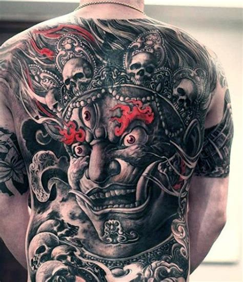 evil demon tattoo designs 90 tattoos for devilish exterior design ideas