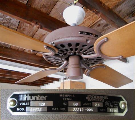 original ceiling fan parts 1981 22272 ceiling fan post 1950 vintage