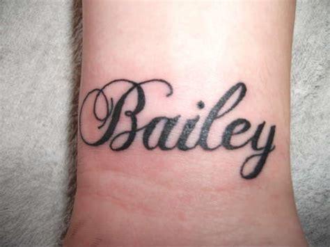 baileys tattoo bailey