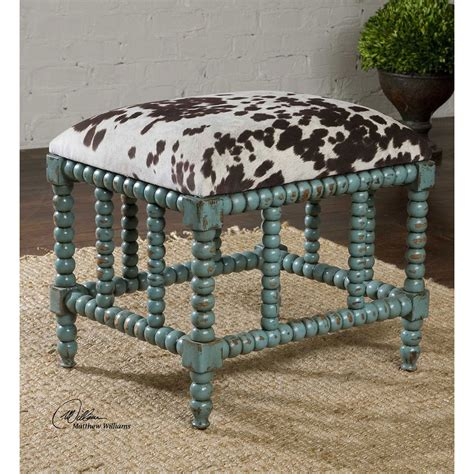 small accent bench chahna aqua blue small bench uttermost benches accent