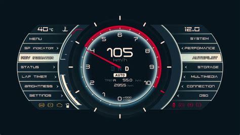 Spd Speedometer Fino Fi 1 car panel instrument speedometer and tachometer hd loop