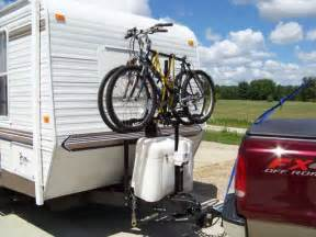 Bike Rack For Back Of Travel Trailer by Rv Net Open Roads Forum Travel Trailers Upnfront Bike