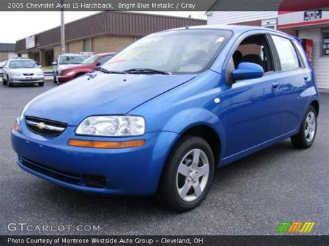 Bright Ls by Bright Blue Metallic 2005 Chevrolet Aveo Ls Hatchback