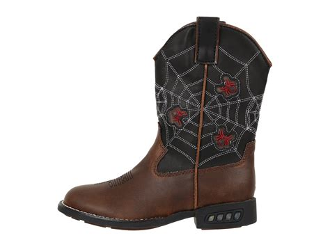 children s cowboy boots roper spider lighted cowboy boots toddler kid