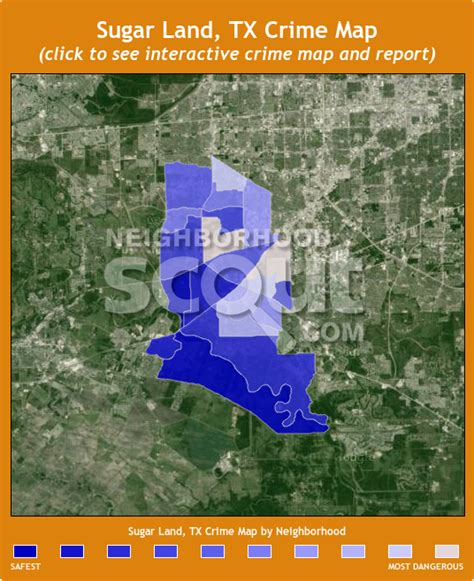 sugar land crime rates and statistics neighborhoodscout