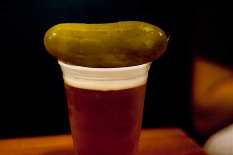 why you should add a pickle to your next beer