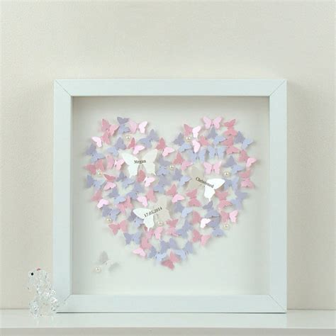 3d paper butterfly wall decor personalised wall with 3d paper butterflies beautiful 3d