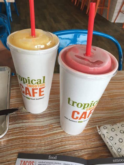 Tropical Smoothie Cafe Detox Island Green Ingredients by Tropical Smoothie Cafe 12 Reviews Juice Bars