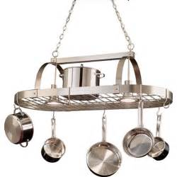 Kitchen Pot Racks With Lights » Ideas Home Design