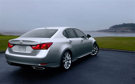 2013 lexus gs 350 rear three quarters photo 2