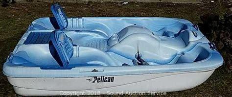 pelican 2 person paddle boat sound auction service auction 3 17 18 live online