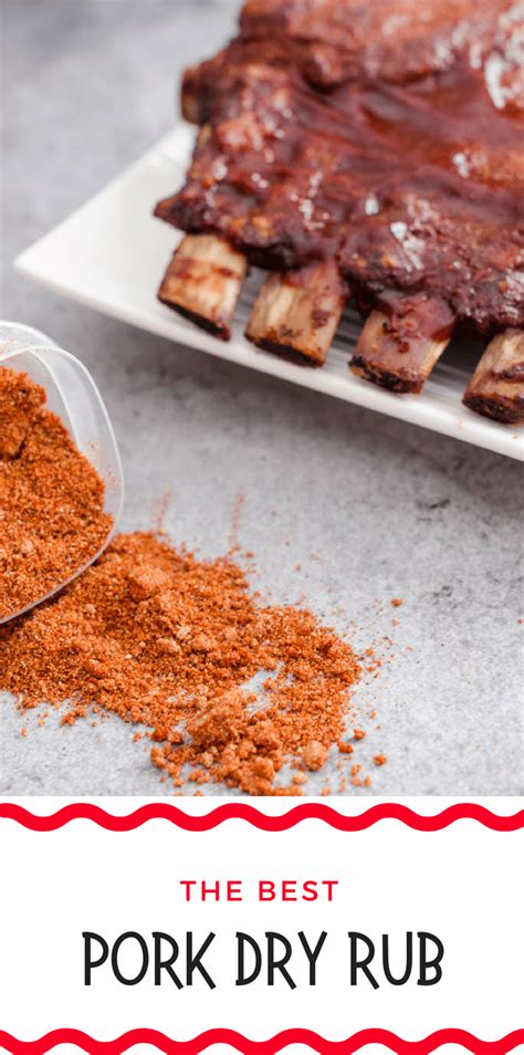 dry recipe best pork dry rub