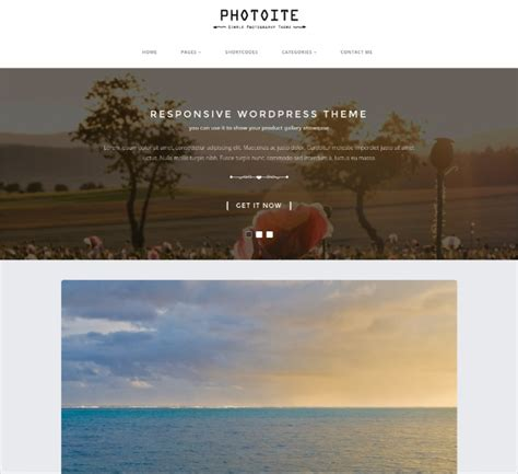 bootstrap themes photography 50 best bootstrap wordpress themes templates design