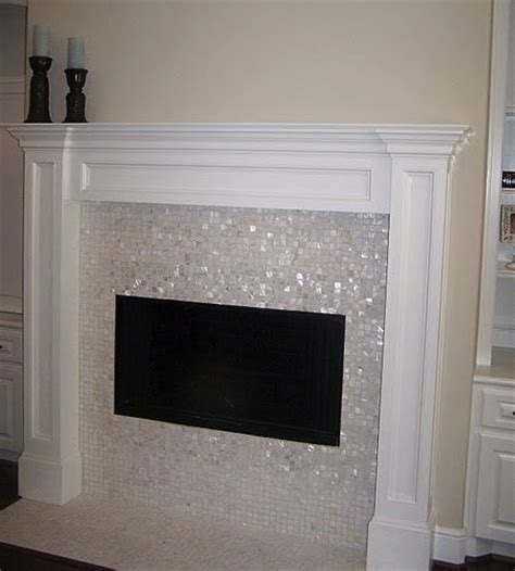 tiling around a fireplace the world s catalog of ideas