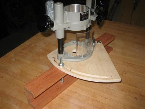 handmade router edge guide router table  garyk