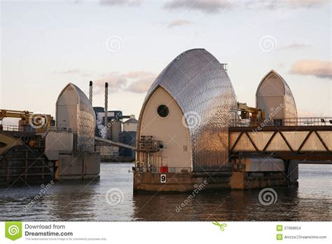 thames barrier animal clinic thames barrier stock images image 27068654