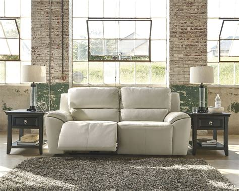 ashley valeton reclining sofa valeton cream 2 seat reclining sofa from ashley u7350081