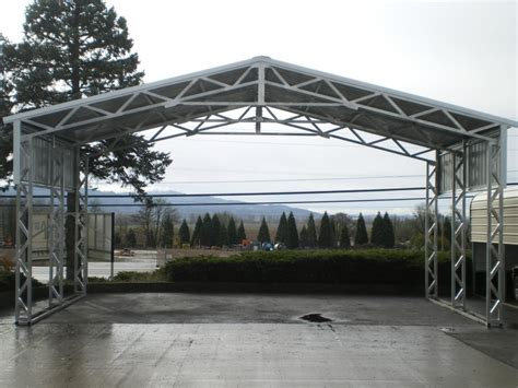 Wide Span Sheds Wa by Free Span All Steel Northwest