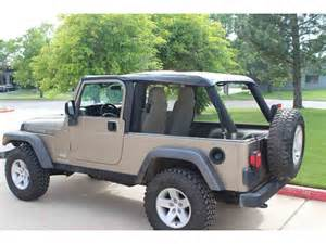Jeep Lj Soft Top Jeep Wrangler 2004 2006 Unlimited Lj