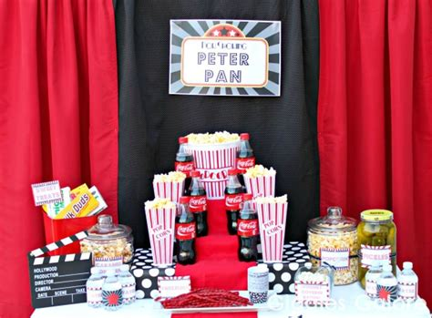 cute movie themes outdoor movie night party giveaway