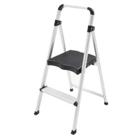 easy reach by gorilla ladders 2 ft aluminum 2 step ultra