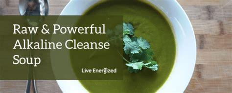 Alkaline Detox Soup by Alkaline Cleanse Soup Recipe 5 Mins To Make