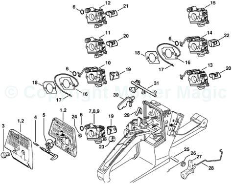 stihl ms 310 parts diagram stihl ms 260 parts diagram
