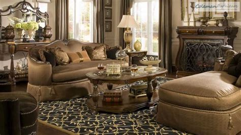 Michael Amini Dining Room Furniture The Sovereign Living Room Collection From Aico Furniture