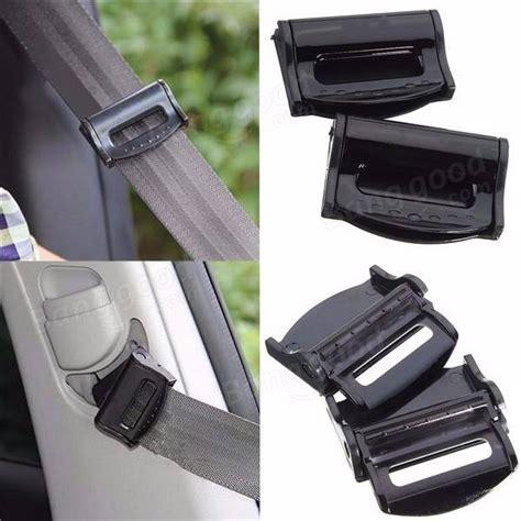 2pcs car safety seat belt adjuster clip clasp for