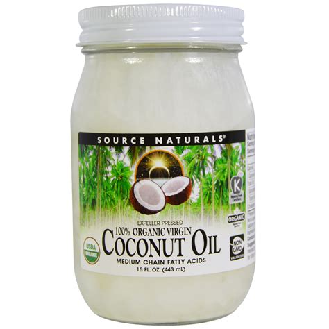 coconut oil americas best source for buying coconut oil source naturals 100 organic virgin coconut oil 15 fl