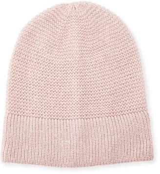 Pim Pom Sweater Pink By Konik Shop minkoff garter stitched headphone beanie hat