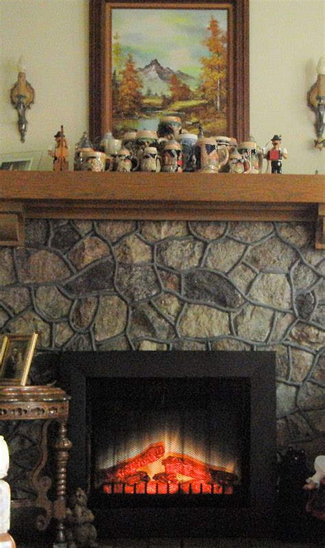 electric fireplace log insert gallery