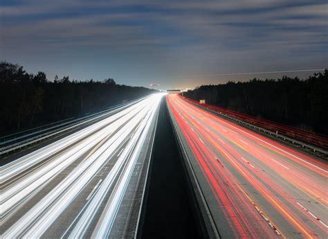 road traffic lights exposure highway trees
