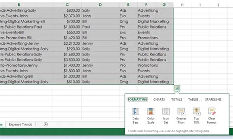 pattern analysis excel first look excel 2013 ars technica
