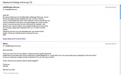 Thanks For Responding To My Application Responding To No Name Science Editor Who Called